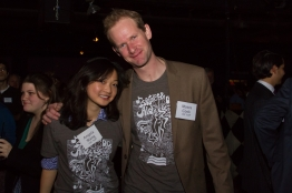Angela Wang and Moses Cook. Photo by Andrea Rodway/Guest Of A Guest