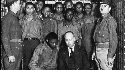 Scottsboro Boys Receive Posthumous Pardon more than 80 years after the nine black teens were wrongfully convicted of raping two white women in 1931 Alabama.